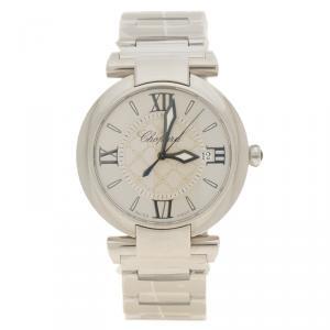 Chopard Silver Stainless Steel Imperiale 388532-3002 Women's Wristwatch 36 mm