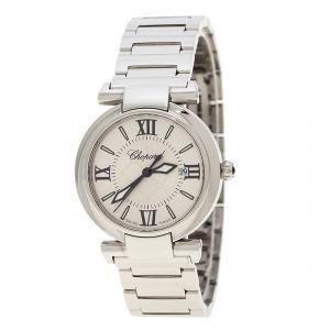 Chopard Silver Stainless Steel Imperiale 8541 Women's Wristwatch 28 mm