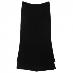 Christian Lacroix Vintage Bazaar Black Layer Skirt M