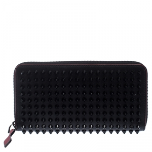 Christian Louboutin Black Spiked Panettone Wallet