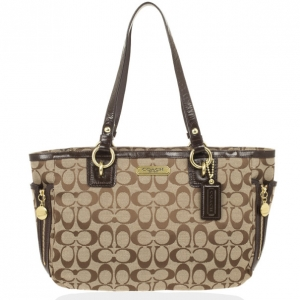Coach Gallery Signature Tote Bag
