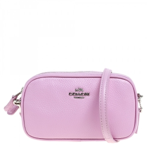 Coach Pink Leather PCC XBody Crossbody Bag