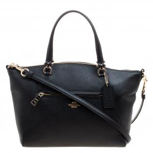 Coach Black Leather Taylor Tote