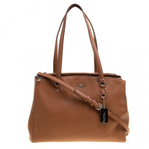 Coach Brown Leather Kelsey Tote
