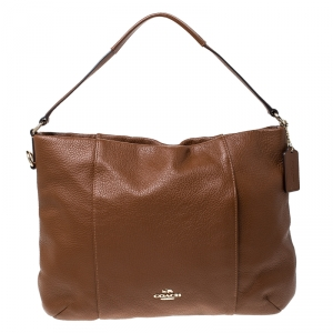 Coach Brown Leather Madison Isabelle Hobo