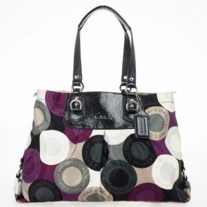 Coach Ashley Snaphead Carryall Tote