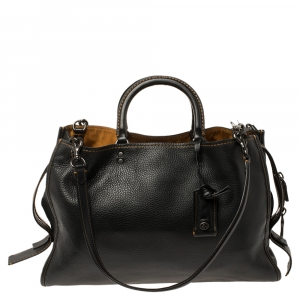 Coach Black Leather Rogue 1941 Bag