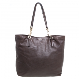 Coach Brown Leather Madison Tote