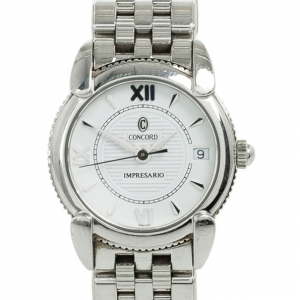 Concord Impresario Stainless Steel Womens Wristwatch 25 MM