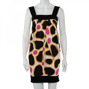 Diane Von Furstenberg Multicolor Knit Sleeveless Payne Dress S - used