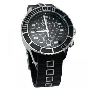 Dior Black Stainless Steel Christal Women's Wristwatch 33MM