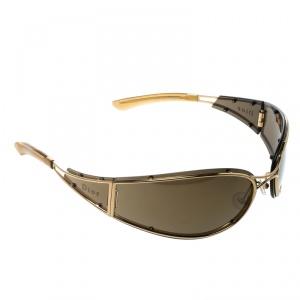 Dior Gold/Brown Trailer Park Sunglasses