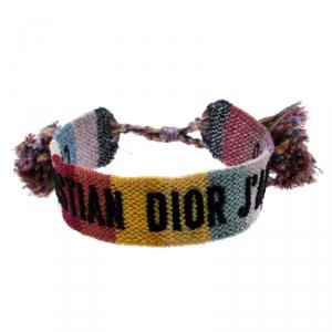 Dior J'Adior Multicolor Woven Bracelet