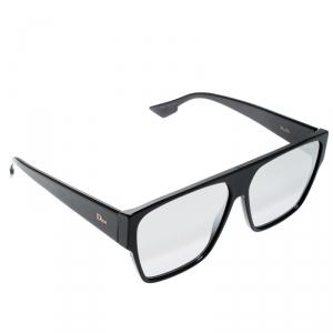 Dior Homme Black / Grey Mirrored Gradient 8070T Dior Hit Square Sunglasses