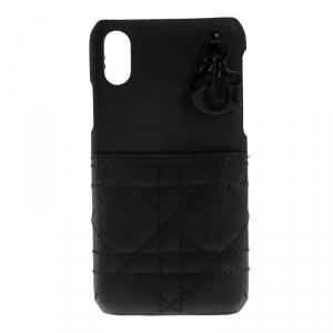 Dior Black Leather iPhone X Case