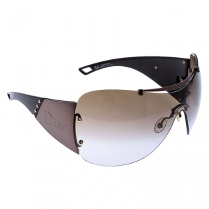 Dior Metallic/Brown Diorito 1Shield Sunglasses