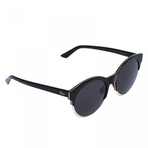 Dior Black/Grey Dior Sideral 1 Round Sunglasses