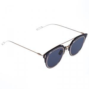 Dior Gold/Blue Composit1.0 Round Sunglasses