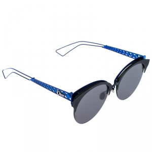 Dior Blue Tone/ Green G5V2K Diorama Club Cat Eye Sunglasses