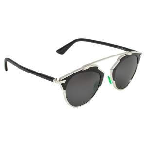 Dior Black/ Grey B1AY1 DiorSoReal Aviator Sunglasses