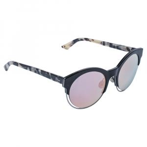 """نظارة شمسية ديور """"ديور سيديرال1"""" مستديرة عاكسة وردية و خضراء و هافانا"""
