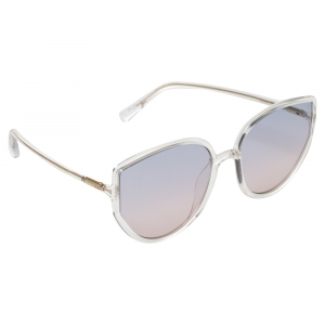 Dior Clear / Bicolor Gradient DiorSoStellaire4 Cat Eye Sunglasses