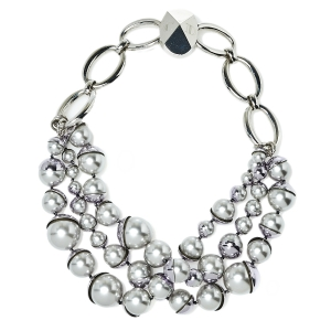 Dior Mise en Dior Multi Strand Faux Pearl Necklace