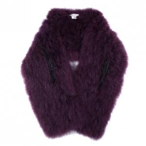 Christian Dior Purple Feather Stole