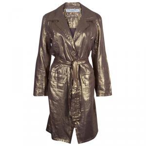 Dior Bronze Long Coat L