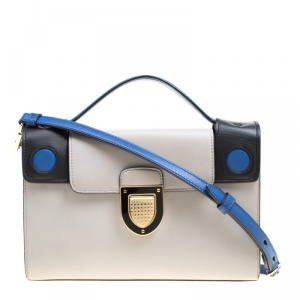 Dior Multicolor Leather Diorever Squad Shoulder Bag