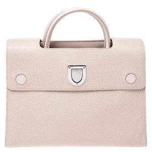 Dior Beige Leather Medium Diorever Bag