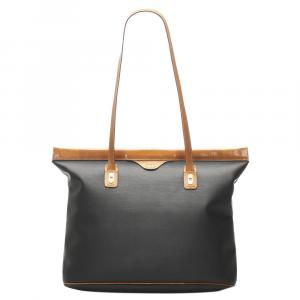 Dior Brown/Blue Canvas Tote Bag