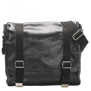 Dior Black PVC Shoulder Bag