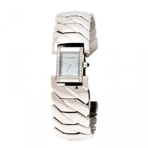 ساعة يد نسائية كريستيان ديور أرت ديكوD72-1011 صدف ألماس ستانلس ستيل 14مم
