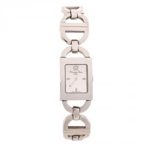 ساعة يد نسائية ديور Malice D78-109 ستانلس ستيل فضية 19 مم