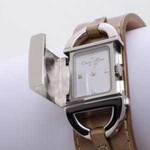 Dior Stainless Steel Pandiora Mirror Dial Quartz D 78-100 Ladies Watch