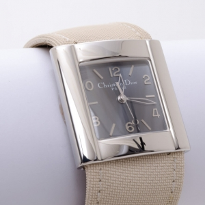 Dior Ladies Leather Band Watch