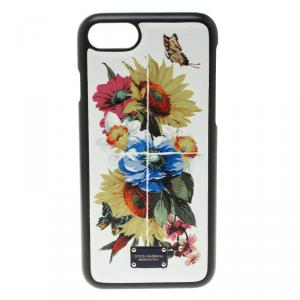 Dolce and Gabbana Yellow Maiolica Flower Vase Iphone 7 Case