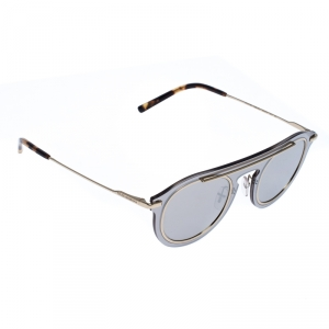 Dolce and Gabbana Gold/Grey DG2169 Mirror Sunglasses