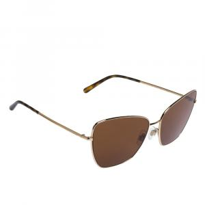 Dolce & Gabbana Brown/Gold DG2208 Sunglasses