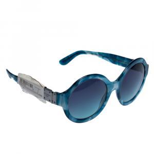 Dolce & Gabbana Havana/Pearl Blue/Azure Gradient DG4331 Sunglasses