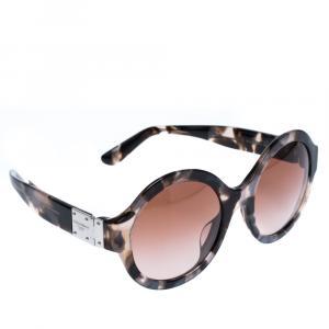 Dolce & Gabbana Pearl Grey Havana/Pink Gradient DG4331-F Sunglasses