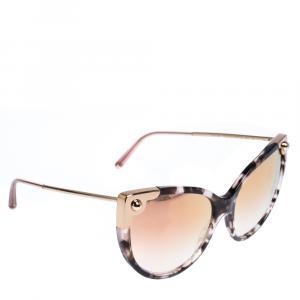 Dolce & Gabbana Pink Gradient/Pink Havana DG4337 Sunglasses