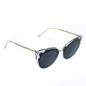 Dolce & Gabbana Black/Grey DG4340 Sunglasses