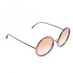 Dolce & Gabbana Pink Gradient/Pink Gold DG2211 Sunglasses