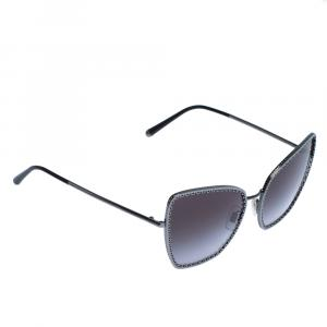 Dolce & Gabbana Grey Gradient/Black DG2212 Sunglasses
