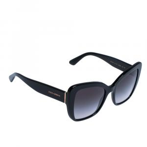 Dolce & Gabbana Black/Grey Gradient DG4348 Sunglasses