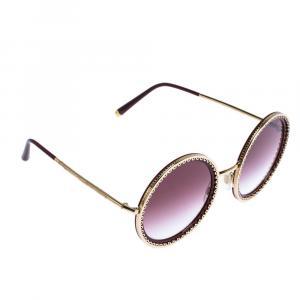 Dolce & Gabbana Violet Gradient/Gold DG2211 Sunglasses