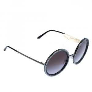 Dolce & Gabbana Grey Gradient/Black DG2211 Sunglasses