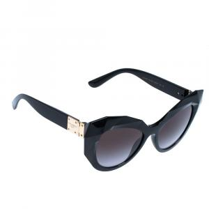 Dolce & Gabbana Grey Gradient/Black DG6122 Sunglasses